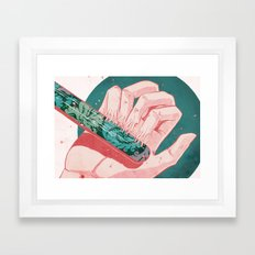 Sound and Fury Framed Art Print