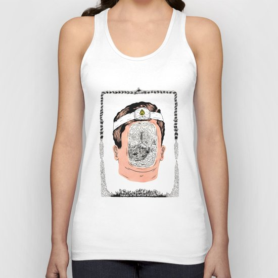 Journey to the center of the earth Unisex Tank Top