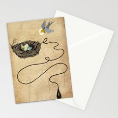 Bird's Winged Flight  Stationery Cards