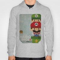 Mario Bros 2 Fan Art Hoody