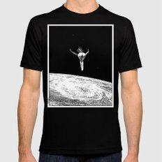 asc 579 - Le vertige (Gaze into the abyss) SMALL Mens Fitted Tee Black