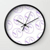 Rich / Boring Wall Clock