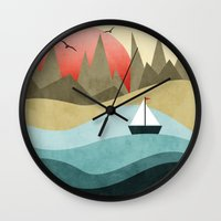 Ocean Adventure 2  Wall Clock
