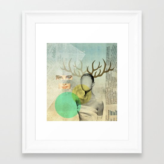 Audreys Virtue Framed Art Print