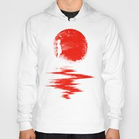 Hoodies featuring The Land of the Rising Sun by nicebleed