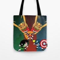 Powerpuff Girls Tote Bag