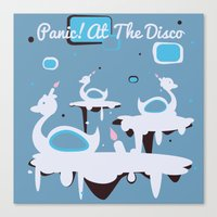 Panic! At The Disco - Ca… Canvas Print