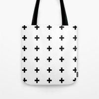 +++ (black) Tote Bag