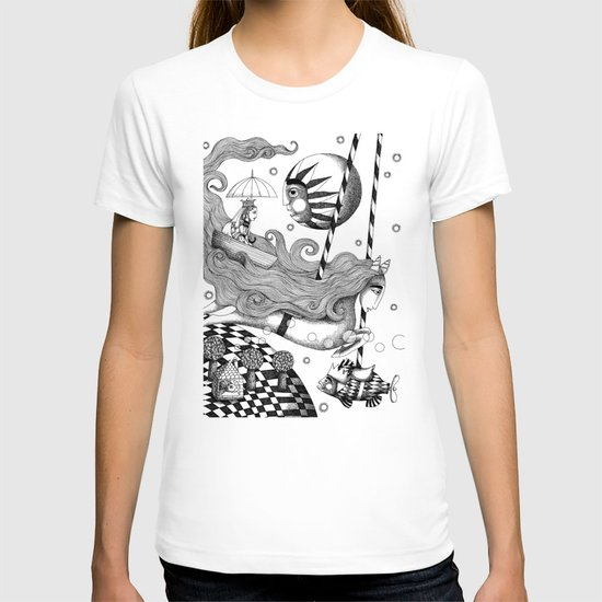 East of Blue Lake T-shirt