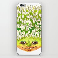 Majestic Leaf iPhone & iPod Skin