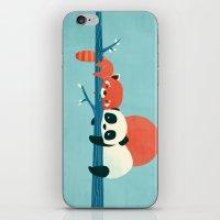 Pandas iPhone & iPod Skin