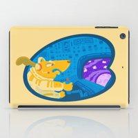 Space Dog The Avenger iPad Case