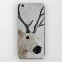Winter Deer - JUSTART © iPhone & iPod Skin