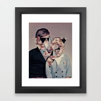 Demon Children Framed Art Print