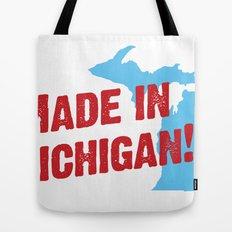 Made in Michigan Tote Bag
