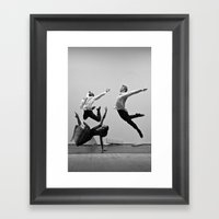 Bodyvox Two Framed Art Print