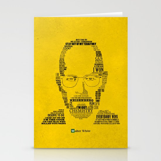 Breaking Bad:  Walter White Stationery Card