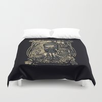 In The Darkness Duvet Cover