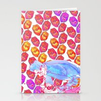 Diamond Pollen Stationery Cards