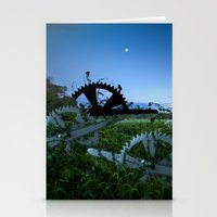 Sprockets in the Mist Stationery Cards