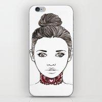 Heart Tattoo iPhone & iPod Skin