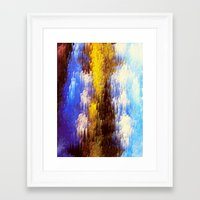 Framed Art Prints featuring Majesty over Heels by Raphael Sinclair