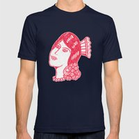 Lady from Spain Mens Fitted Tee Navy SMALL