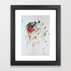 Jay Freestyle - Native American Framed Art Print