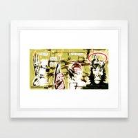 Monkey Gone to Heaven Framed Art Print
