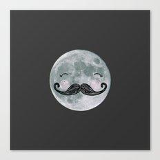 mr.moon Canvas Print