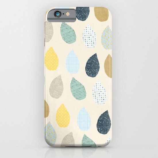rain drops pattern iPhone & iPod Case