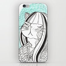 Cat Lady No. 1 iPhone & iPod Skin