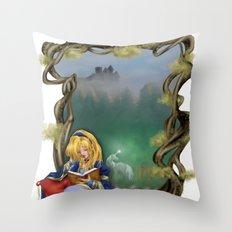 Deamscape Throw Pillow