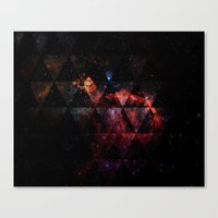 Galactic Cocktail Canvas Print