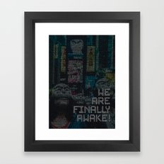 mr.robot_eps1.9_zer0-day.avi Framed Art Print