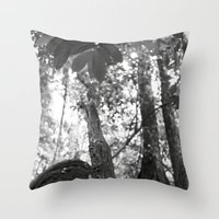 Umbilical Throw Pillow