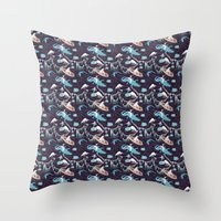 Wicked Waters Throw Pillow