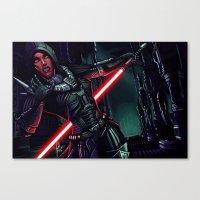 SWTOR - Attack! Canvas Print