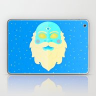 Santa Cosmos Laptop & iPad Skin