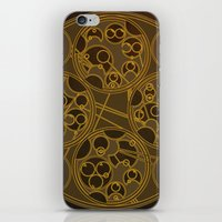 Tick-Tock Poem in Circular Gallifreyan iPhone & iPod Skin