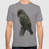 Kea Pattern Mens Fitted Tee Athletic Grey SMALL
