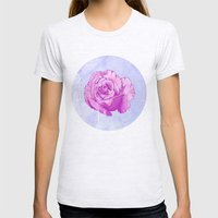 Rosa Womens Fitted Tee Ash Grey SMALL