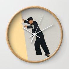 Pushing Boundaries Wall Clock