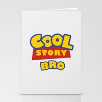 Cool Story, Bro Stationery Cards