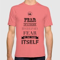 hp quotes: Philosophers Stone Mens Fitted Tee Pomegranate SMALL