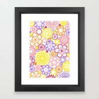 BOLD & BEAUTIFUL summertime Framed Art Print