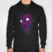 Jellyfish Watercolor Hoody