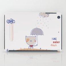 Rainy days iPad Case