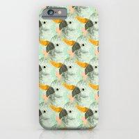 Parrots Print (Coral) iPhone 6 Slim Case