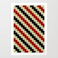 Pixel Navajo Art Print